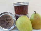 Vanilla Spice Pear Butter - Pressure Cooker & ip Canning Instructions