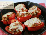 Italian Quinoa and Sausage Stuffed Peppers