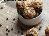 No Bake Chocolate Chip Banana Bread Energy Bites
