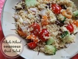 Whole Wheat Couscous Greek Salad