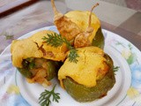 Air Fried Stuffed Bell Pepper(Capsicum)