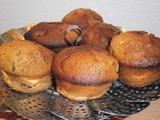 Muffins with figs, vanilla and honey