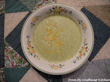 Almost Famous Cheddar Broccoli Soup
