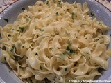 Buttery Lemon Parsley Noodles