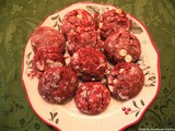 Christmas:Red Velvet Crinkle Cookies