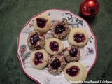 Christmas: Thumbprint Cookies