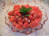 Fourth of July: Watermelon Salad
