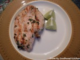 Grilled Parsley Lime Chicken