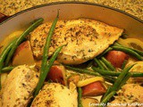 Lemon Chicken Skillet Dinner