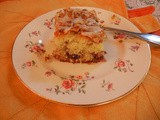 Thanksgiving:Spiced Cranberry Coffee Cake