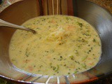 White Cheddar Broccoli Soup
