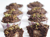 Creme Egg Double Chocolate Muffins