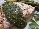 Grilled Swordfish with Salsa Verde