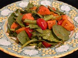 Roasted Vegetable Salad with Harissa