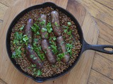 Italian Sausage with Lentils