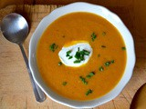 Roasted Carrot Soup #SundaySupper