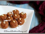 Sticky Coconut laddoo