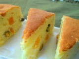Apricot Pistachio Lemon Coffee Cake
