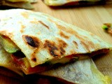 Avocado and Bacon Quesadilla