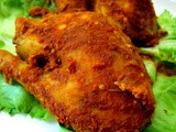 Ayam Golek Pahang ( Pahang Style Spicy Grilled Chicken )