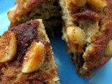 Banana, Macadamia Nut and Coconut Coffee Cake