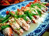 Chinese Style Steamed Prawns