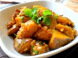 Chinese Style Stir Fry Pumpkin with Dried Shrimps