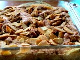 Cinnamon Apple Walnut Torte