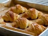 Homemade Butter Croissants