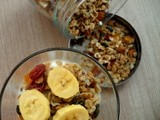 Homemade Granola with Wolfberries