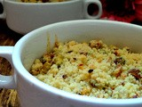 Pear and Maple Crumble