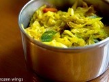 Spiced Indian Yellow Cabbage