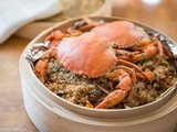 Steamed Glutinuous Rice with Crab (紅蟳米糕 )