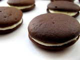 Whoopie Pies with Cream Cheese Filling