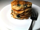 Blueberry Graham Pancakes