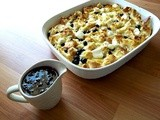 Citrus and Blueberry Casserole