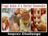 Eggnog and Cranberry Thumbprint Cookies: Improv Challenge