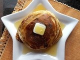 Glutenfree Sour Cream Raisin Pancakes