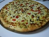 Mediterranean Pizza: Sour Cream and Lemon Improv Challenge