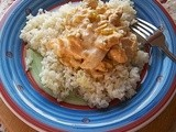 Saucy Buffalo Chicken and Rice