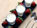 Coconut Milk Panna Cotta