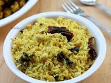 Easy Tamarind Rice Recipe | Puli Sadam