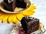 Egg free Dairy free Chocolate Cake | Mini Chocolate Cake
