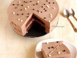 Eggless Chocolate Mousse Cake