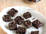 No Bake 3 Ingredient Chocolate Oats Bars