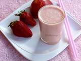 Strawberry Apple Smoothie