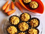 Whole Wheat Carrot Muffins | Healthy Muffins