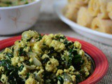 Ayib Be Gomen – Ethiopian Spinach and Cottage Cheese Stir Fry