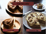 Best Whole Wheat Carrot Walnut Cake Recipe – Both Egg and Eggless Recipes