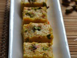 Carrot Coconut Burfi Recipe – Rakshabandhan Sweets